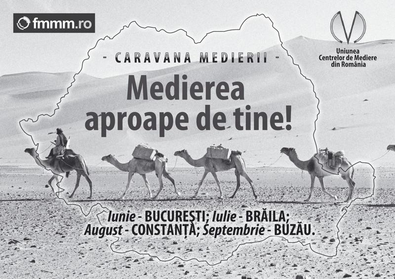 Caravana Medierii 2011-2013 - 30 de evenimente de informare a publicului despre mediere