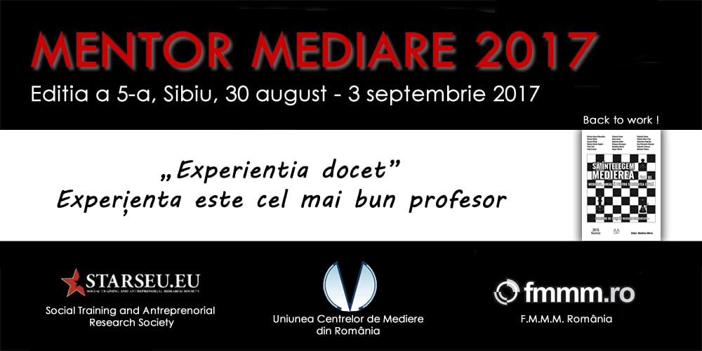 Mentor Mediare 2017